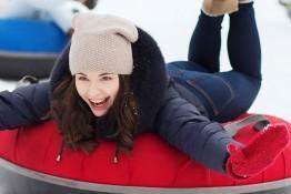 Jeleniewo Atrakcja Snowtubing WOSiR Szelment